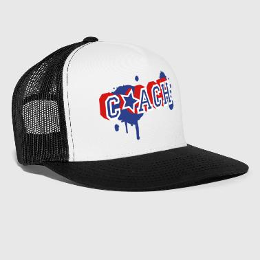 Coach Graffiti - Trucker Cap