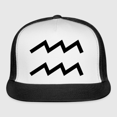 Aquarius Zodiac Sign for Horoscope - Trucker Cap