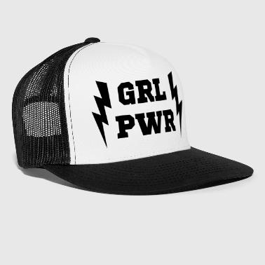 PWR - GIRL POWER - LATINA POWER - Trucker Cap