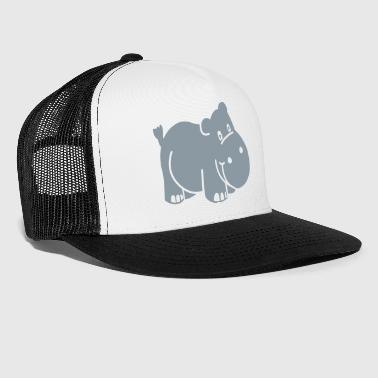 Happy Hippo - Trucker Cap