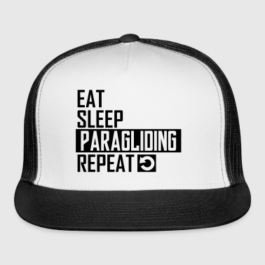 eat sleep paragliding - Trucker Cap