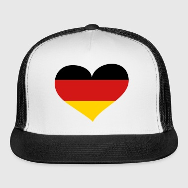 Germany Heart; Love Germany - Trucker Cap