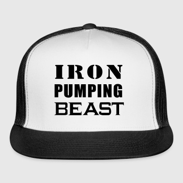 Iron Pumping Beast - Trucker Cap