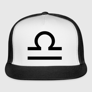 Libra zodiac signs and horoscope symbol - Trucker Cap