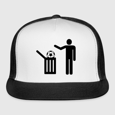 football = trash - Trucker Cap