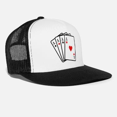Cards Poker - Trucker Cap