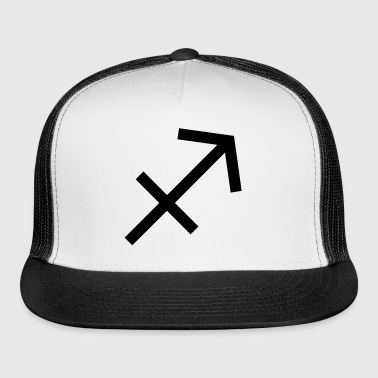 Sagittarius Zodiac Sign and Horoscope Symbol - Trucker Cap