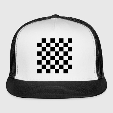 Chess, chessboard, check - Trucker Cap