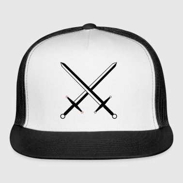 Crossed Swords  - Trucker Cap