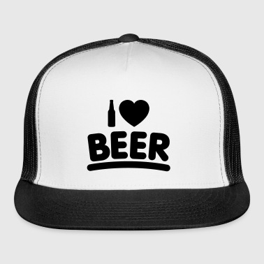 I ♥ BEER (1 Color) - Trucker Cap