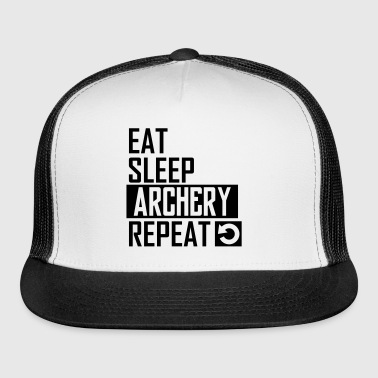 eat sleep archery - Trucker Cap