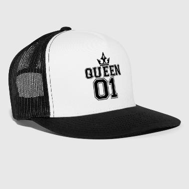 Queen_with_crown_01 - Trucker Cap
