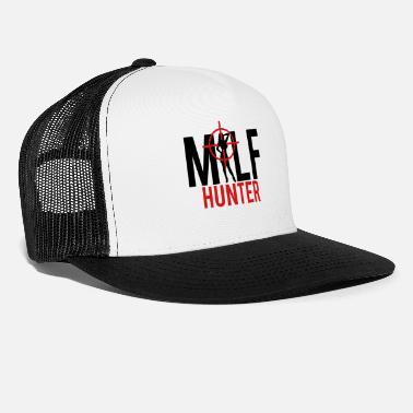 Milf Milf Hunter Sight Women Hunting - Trucker Cap
