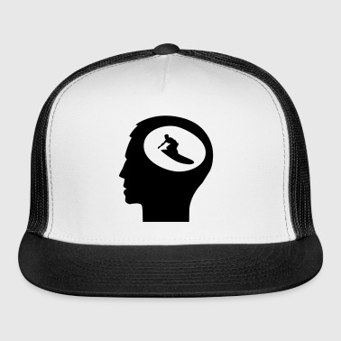 Only Surfing On My Mind; Surfer - Trucker Cap