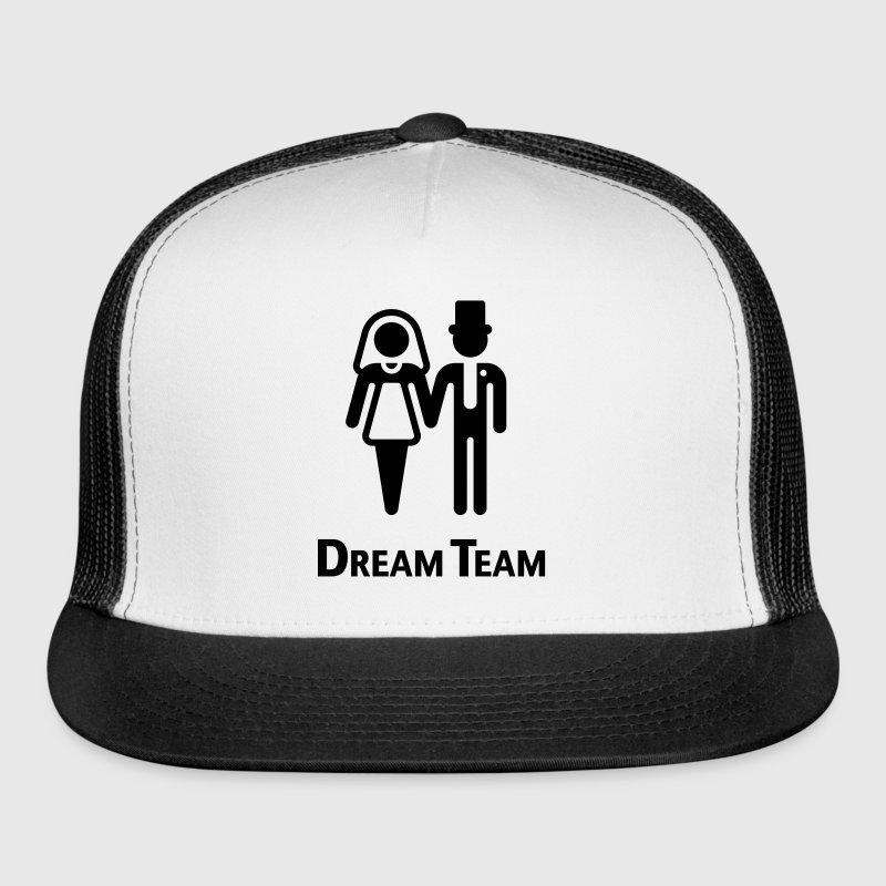 Dream Team (Bridal Pair / Wedding / Marriage) - Trucker Cap