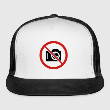 No Pictures - Trucker Cap