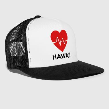 Heart Hawaii - Trucker Cap