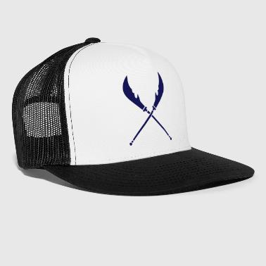 crossed weapon - Trucker Cap