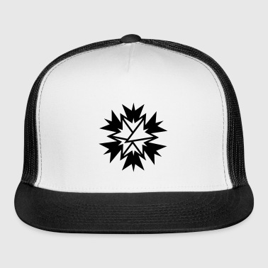 An abstract star - Trucker Cap