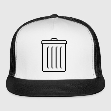 TRASH DUSTBIN RETRO - Trucker Cap