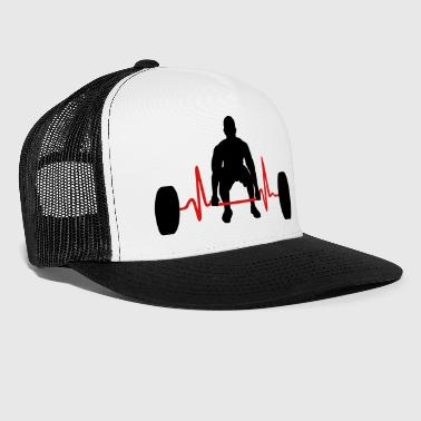 Weightlifter & Heartbeat - Trucker Cap