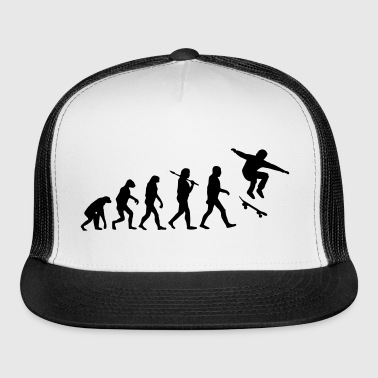 Skateboarding Evolution - Trucker Cap