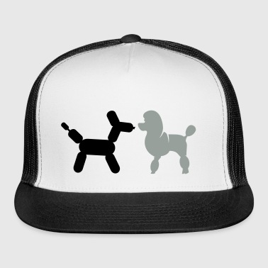 Poodle and Balloon Poodle - Trucker Cap