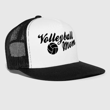 Volley Volleyball Mom Mama Mutter w - Trucker Cap