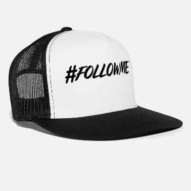 Typo Collection hashtag, hash, for story, stories, story, followme - Trucker Cap