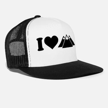 I Love i love to - Trucker Cap