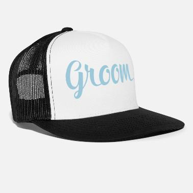 Groom Wedding Groom, Groom to be, Husband, Wedding - Trucker Cap