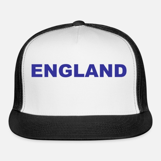 British Caps - Great Britain - England - London - Sport - Athlet - Trucker Cap white/black