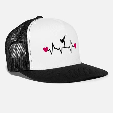 Cool Martial Arts & Heartbeat, woman - Trucker Cap