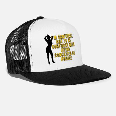 Conceited Not Boujee gold - Trucker Cap