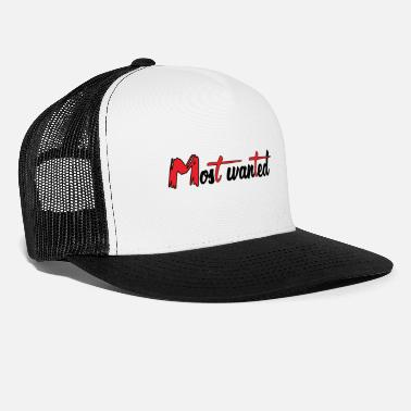 Wanted MOST WANTED - Trucker Cap