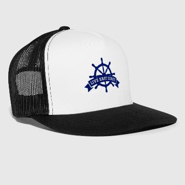East Coast Live East Coast Blue - Trucker Cap