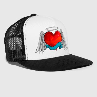 Corazon heart angel - Trucker Cap