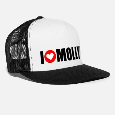 Molly I love molly - Trucker Cap