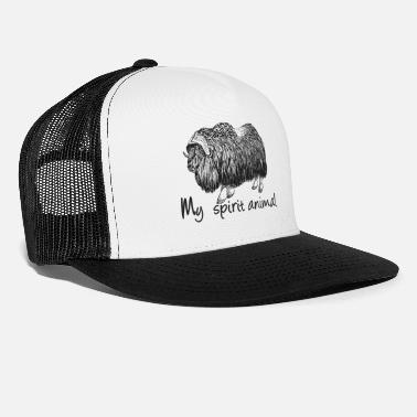 Spirit Ox My spirit animal - Trucker Cap