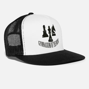 Gymnasium gymnasium of the mind - Trucker Cap