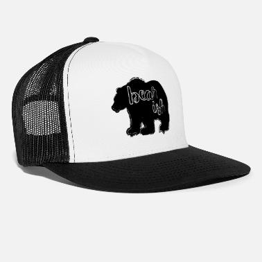 Bearish on the stock market - Trucker Cap