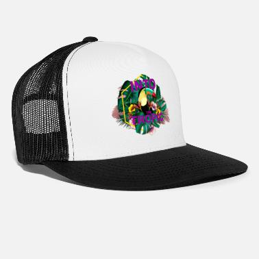 Tropical Into The Tropic - Trucker Cap