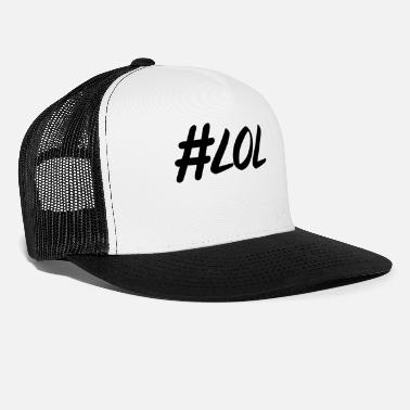 Typo Collection hashtag, hash, for story, stories, story, love - Trucker Cap