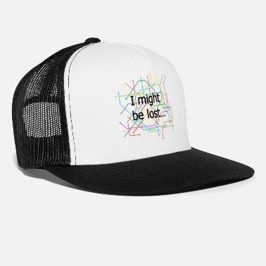 97f16a174fd67 Subway Subway map - Trucker Cap