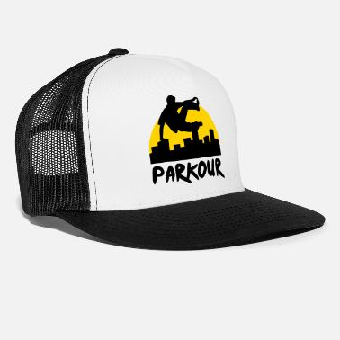 City Free running in the city, parkour - Trucker Cap