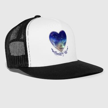 Corazon Infinity Love Heart - Trucker Cap