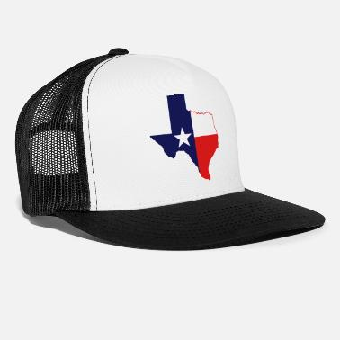 texas state border - Trucker Cap