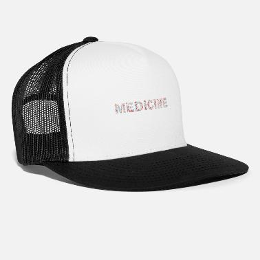 First Aid first aid medicine word - Trucker Cap