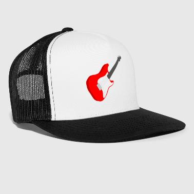 Rock Music rock guitar music - Trucker Cap