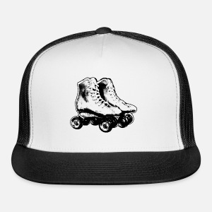 5dfbc114619 Roller skates retro black white by Retrofuchscom